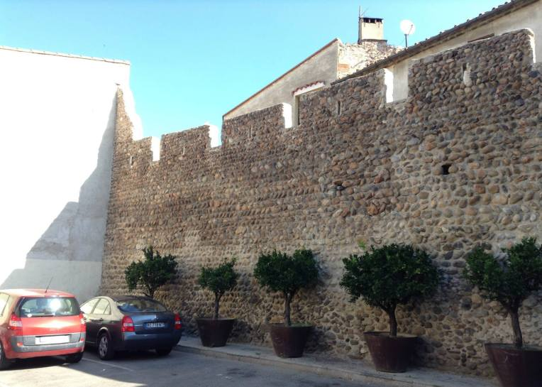 Remnants of the original ramparts