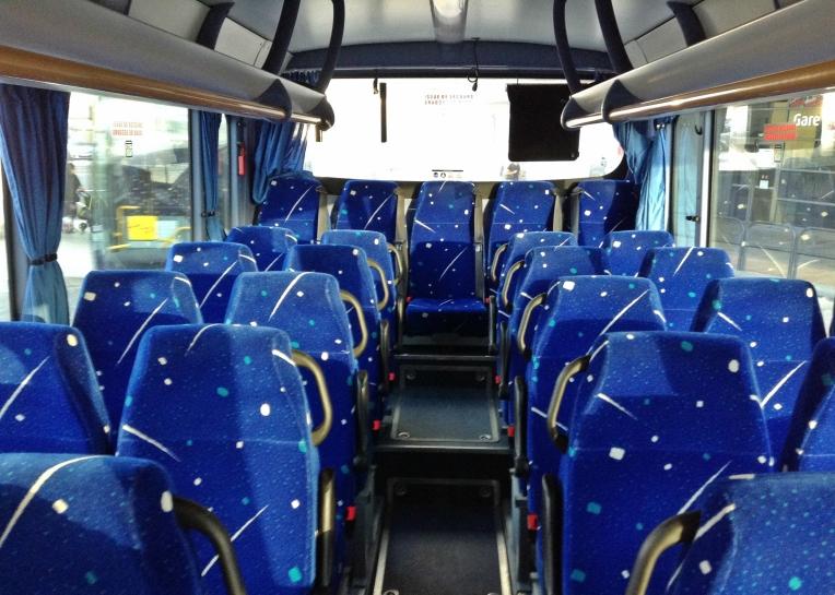 €1 Bus Interior