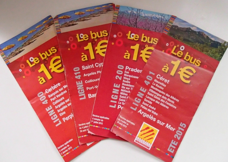 1€ Bus Schedules