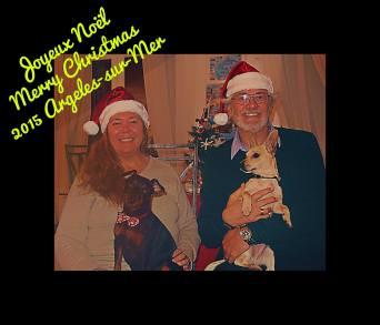 Family photo for Christmas 2015