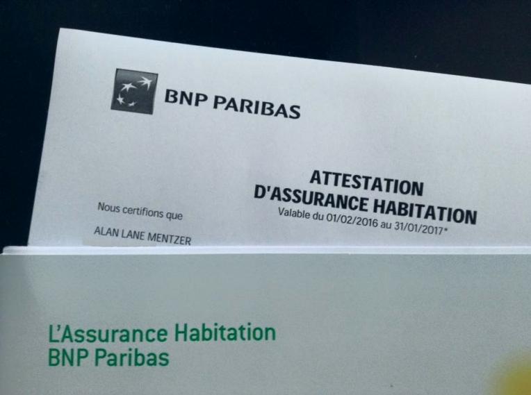 Attestation d'Assurance Habitation