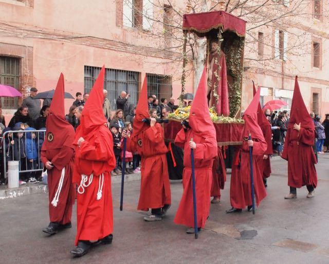 Procession de la Sanch à Perpignan
