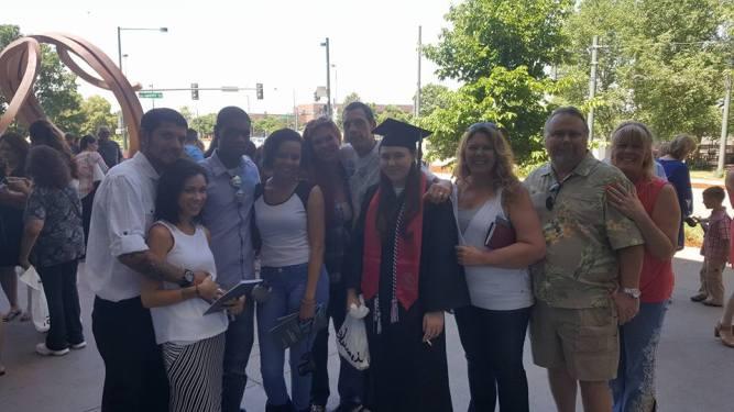 """Woohoo! An """"official"""" graduate"""