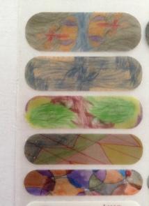 More of the grandkids' designs
