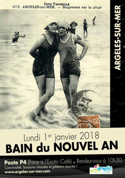 Bain du Nouvel An Poster