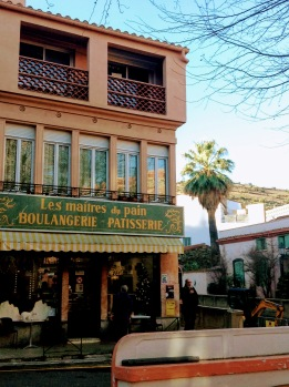 Boulangerie on the town square