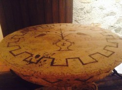 A table made from cork