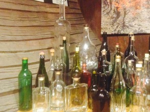 Bottle and cork collection